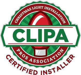 Christmas Light Installation Pros Association Certified Installer Logo